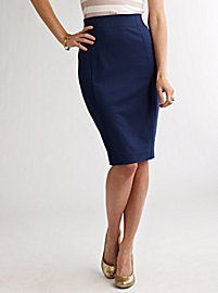 I'm getting this pencil skirt.  Word.