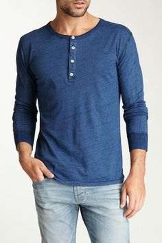 What Goes Around Comes Around Picket Henley Tee by Scotch & Soda on @HauteLook