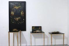 Vista de la instalación de Tania Gonzalez en Sub30, Museo de arte Contemporáneo MAC, 2014
