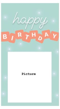 Happy Birthday Template, Happy Birthday Frame, Happy Birthday Posters, Birthday Posts, Diy Birthday, Birthday Captions Instagram, Birthday Post Instagram, Instagram Story Ideas, Instagram Quotes