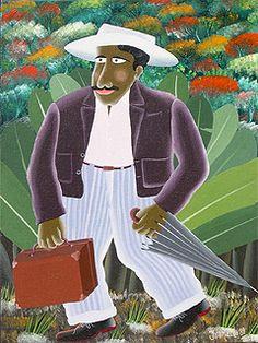 Man with Umbrella by Ivonaldo Veloso de Melo