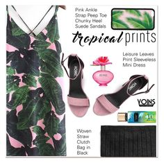 """""""Hot Tropics 2"""" by paculi ❤ liked on Polyvore featuring Marc Jacobs, tropicalprints, yoins, yoinscollection, loveyoinsin and hottropics"""