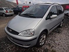 Galaxy 2, Roof Rails, Alloy Wheel, Rear Seat, Manual, Ford, Link, Silver, Textbook
