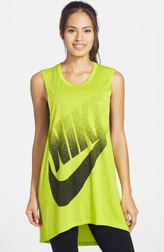 Nike 'Signal' Muscle Dress available at Fade To Black, Nordstrom Dresses, Nordstrom Credit, Muscle, Workout, Summer Dresses, Nike, Clothes, Shopping