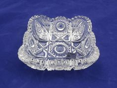 Imperial Glass Bowl by Lenox Sawtooth & Hobstar by ShellyisVintage