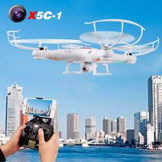 X5c Quadcopter Drone With 200W Camera rc helicopter christmas gift same as Syma X5C ** AliExpress Affiliate's buyable pin. Click the VISIT button to view the details on www.aliexpress.com