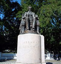 Abraham Lincoln: The Head of State - Grant Park, Chicago, Illinois