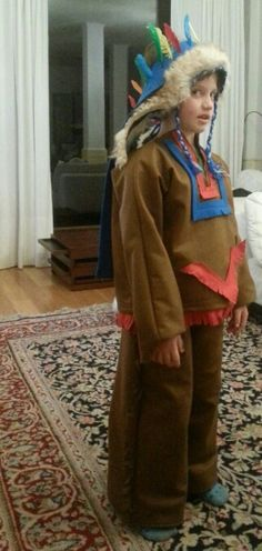 Costume indiano d'america