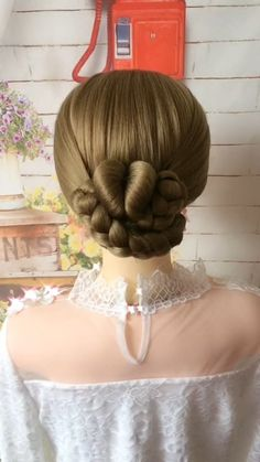 The braid of fashionable individual character sends, can let your long hair become more aesthetic and attractive, have an individual character more. Cute Simple Hairstyles, Easy Hairstyles For Long Hair, Braided Hairstyles, Up Hairstyles, Kids Wedding Hairstyles, Braided Updo, Hairstyle Ideas, Hairdo For Long Hair, Long Hair Video