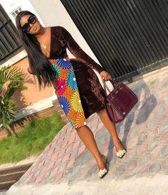 ankara stil These Sumptuous Ankara Styles Will Stop Traffic! A Million Styles African Print Dresses, African Print Fashion, African Fashion Dresses, African Attire, African Wear, African Dress, African Prints, African Clothes, Ankara Fashion
