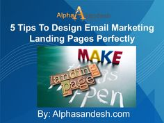 Tips to create a landing page