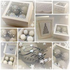 Stampin Up - Weihnachten - Frohe Festtage - Schachtel Collage