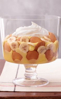 Easy Southern Banana Pudding — We kept all the big flavor of classic Southern-style banana pudding and whittled it down to a five-ingredient wonder. Prep time: 20 minutes!