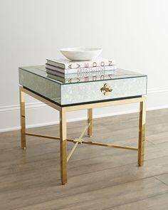 Herringbone Mirror Coffee Table West Elm InteriorFurniture - West elm mirrored side table