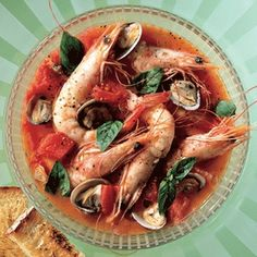 Recipe for Clam And Shrimp Stew : La Cucina Italiana