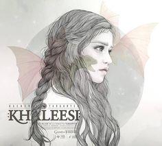 Daenerys Targaryen by Mercedes deBellard