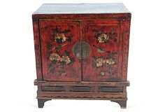 Antique Painted Chinese Cabinet on OneKingsLane.com Chinese Cabinet, Oriental Furniture, Antique Paint, Warehouse, Antiques, Home Decor, Antiquities, Antique, Decoration Home