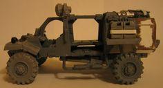 Necromunda avec des véhicules : Ash Wastes