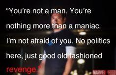 Tony Stark ~ Good old fashioned revenge.