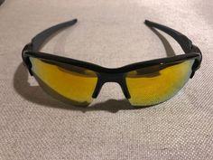 b00a827397b Oakley Flak 2.0 Team Colors Sunglasses Polished Black W  Fire Iridium
