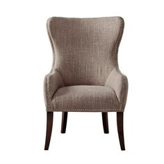 Darby Home Co® Garrison Button Tufted Wingback Chair
