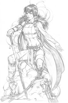 Young Lady Sif by Keu Cha