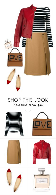 """""""like a lovesong"""" by ms-wednesday-addams ❤ liked on Polyvore featuring Faith Connexion, Les Petits Joueurs, PS Paul Smith, Dsquared2, Christian Louboutin and Ralph Lauren"""