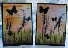 Sunset ATC's by turleyfamily(Dawn), via Flickr