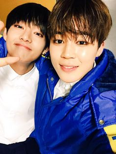 BTS Tweet - Jimin & V (selca)  posted by Jimin  -- 150519 -- 오늘은 오늘로 내일은 또 내일로~ 오늘도 전국에서 응원해준 우리 아미 감사합니다 너무 거창한가 ㅋㅋ 고마워요~ _JM   -- [tran] Today is today, tomorrow is another tomorrow~ Thank you to our ARMYs from the whole country for cheering us today as well It was really great keke Thank you~ _JM  -------  Trans cr; Mary @ bts-trans