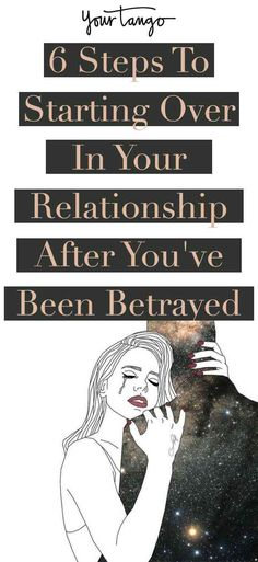For couples who have experienced betrayal, learning how to start over in a relationship is never easy. But in order to truly grasp how to start fresh in a relationship, you need to seek support, make promises to yourself, and make a choice to start again.