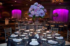 beautiful purple decoration idea.