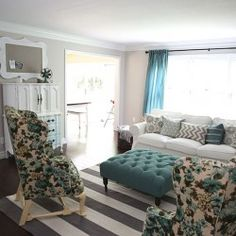 How To Sew A Pillowcase In Minutes Turquoise Living RoomsGrey Living RoomsLiving Room IdeasLiving
