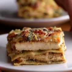 Eat Stop Eat To Loss Weight - Chicken Alfredo Lasagna - In Just One Day This Simple Strategy Frees You From Complicated Diet Rules - And Eliminates Rebound Weight Gain I Love Food, Good Food, Yummy Food, Tasty Videos, Food Videos, Chicken Alfredo Lasagna, Lasagna Noodles, Cooking Recipes, Healthy Recipes