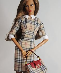 dele Makèda #adelemakeda love Burberry @luxefashiondolls #itluxelif Burberry Prorsum, Barbie, Doll, Couture, Instagram, Vintage, Style, Fashion, Swag