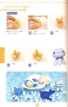 Chiku Chiku 01 - Felt Wool Doll Step-by-Step - Japanese craft book