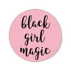 Shop Black Girl Magic Sticker created by Gather_And_Grace. Personalize it with photos & text or purchase as is! Pink Neon Wallpaper, Girl Wallpaper, Retro Wallpaper, Black Girl Shirts, African Love, Supreme Wallpaper, Puff Girl, Black Girl Aesthetic, Black Girl Magic
