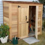 W x 3 ft. D Solid Wood Tool Shed Found it at Wayfair - Garden Chalet ft. D Wood Lean-To Tool ShedFound it at Wayfair - Garden Chalet ft. D Wood Lean-To Tool Shed Wood Storage Sheds, Outdoor Storage Sheds, Garden Tool Storage, Storage Shed Plans, Wood Shed, Outdoor Sheds, Storage Ideas, Storage Design, Wall Storage