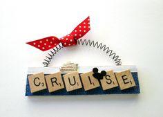 Cruise Ship Alaska Disney Scrabble Tile Ornament by ScrabbleTileOrnament on Etsy https://www.etsy.com/listing/238359304/cruise-ship-alaska-disney-scrabble-tile