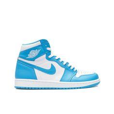 Blue And White Jordans, Blue And White Style, Jordan 1 Blue, Jordan 1 Retro High, Jordan Shoes For Sale, Cheap Jordan Shoes, Best Sneakers, Sneakers Fashion, Jordan Store