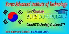 Güney Kore Küresel Bilişim Teknolojileri Burs Programı | Üniversite Burs, Staj, Yarışmalar ve Bölümler