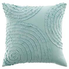 Mineral blue pillow