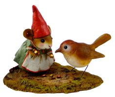 'Wee Forest Folk'  Mrs. Gnome. I bought one of these years ago. Forgot how cute these are!