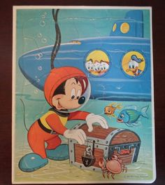 vintage 1965 Walt Disany Productions Mickey by alsredesignvintage, $8.00