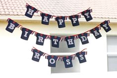 Birthday banner   Football Jersey Banner a printable DIY party by MadeWithLoveJJ