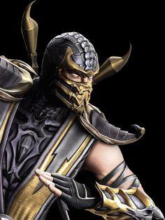 Scorpion from Mortal Kombat in the GA-HQ Video Game Character DB Mortal Kombat 9, Image Hd, New Image, Mileena, Video Game Characters, Manga, Videogames, Anime, Batman