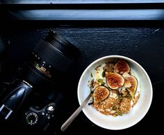 Fig and Granola Yogurt Bowl Recipe