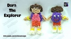 rainbow loom charm figures - YouTube