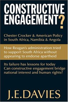 : Chester Crocker & American Policy in South Africa, Namibia & Angola, Apartheid, Foreign Policy, African Women, Chester, New Books, South Africa, Engagement, American, Amazon