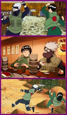Kakashi y Gai Anime Naruto, Boruto, Kpop Anime, Naruto Boys, Kakashi Sensei, Naruto Sasuke Sakura, Naruto Comic, Naruto Cute, Naruto Shippuden Sasuke