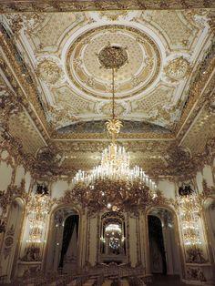 Interior - city palace Liechtenstein Vienna